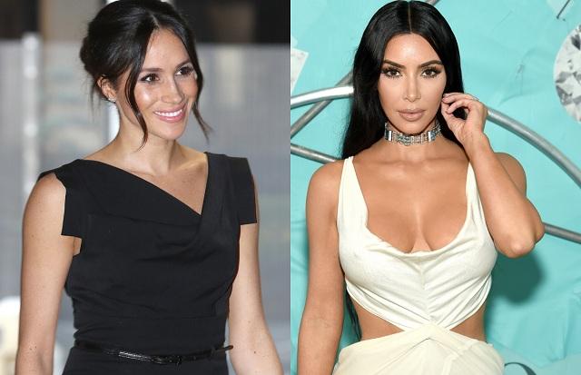 kim kardashian and meghan markle