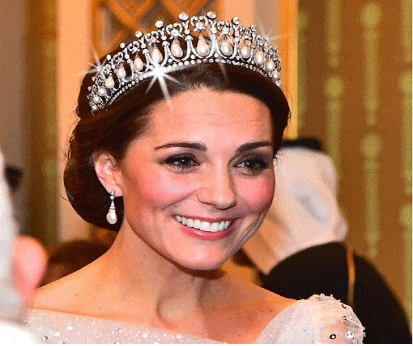 Kate Middleton Has Only Worn a Tiara Eleven Times