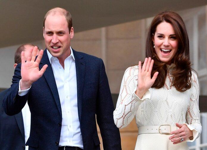Kate Middleton & Prince William Go to