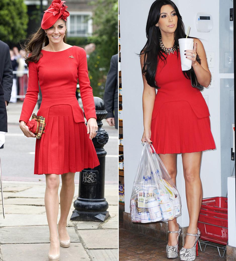 Kate Middleton vs. Kim Kardashian