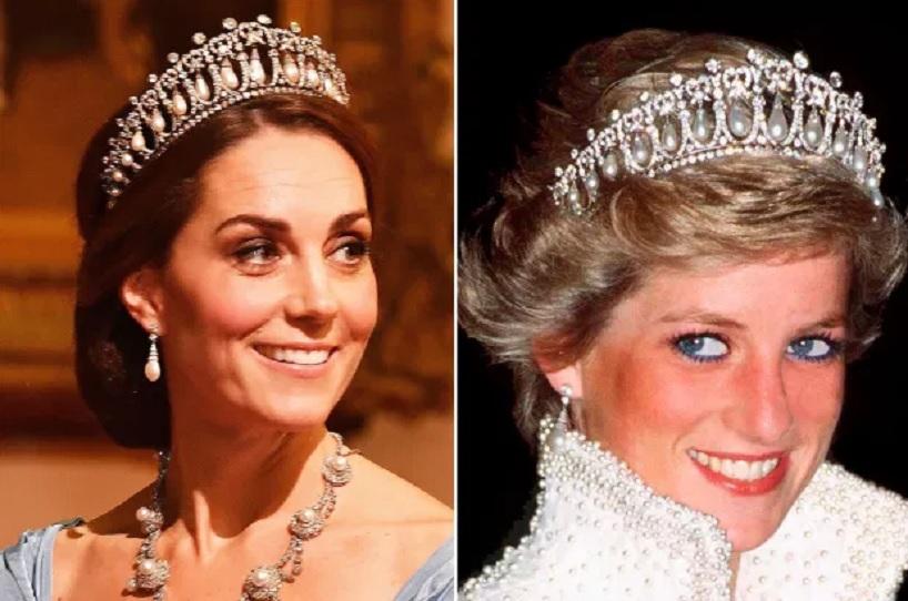 Kate Middleton wears Princess Diana's favorite tiara to state banquet