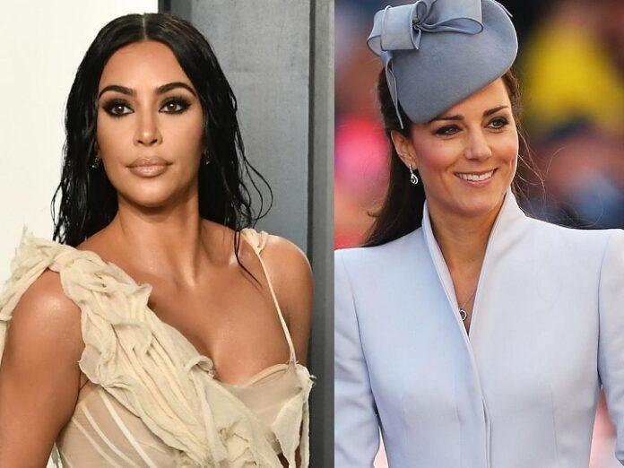 Kim Kardashian and Kate Middleton