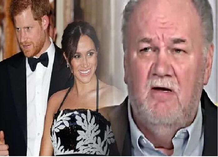 MEGHAN MARKLE and Prince Harry could respond aggressively to Thomas Markle's threats