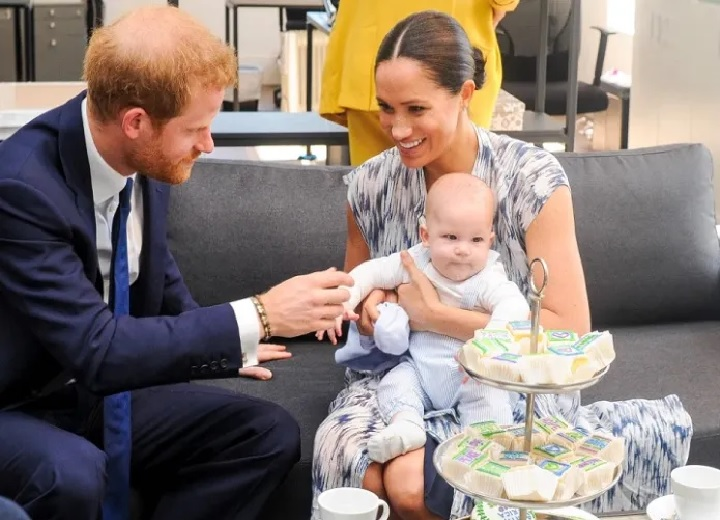 Meghan Markle and Prince Harry Archie and Lilibet