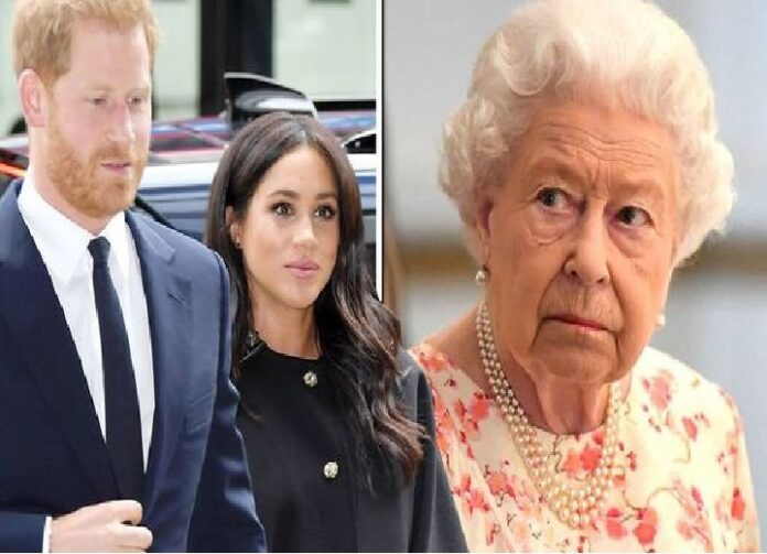 Prince Harry and Meghan Markle will NOT christen Lilibet at Windsor in front of the Queen