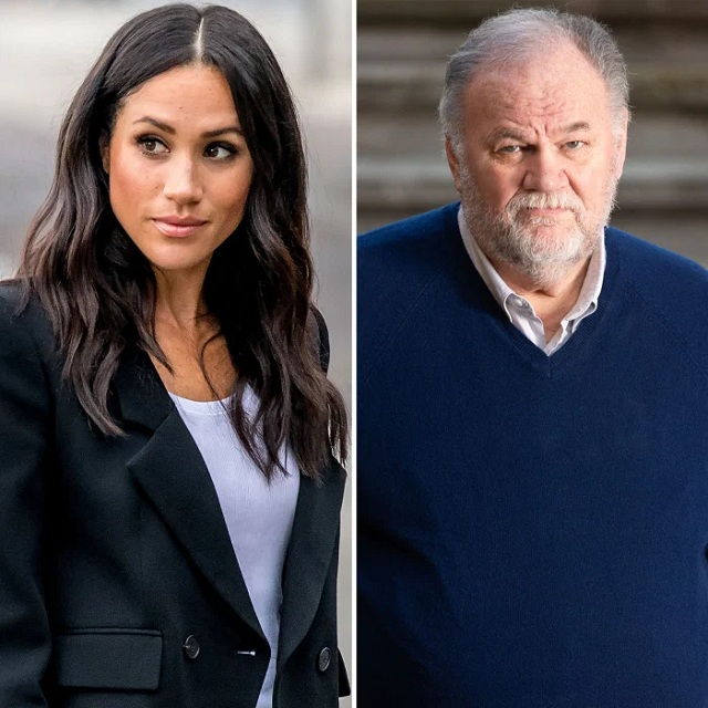 markle and father