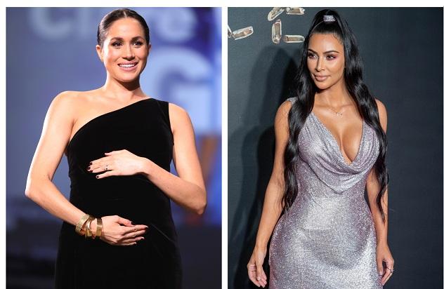 Meghan Markle & Kim Kardashian
