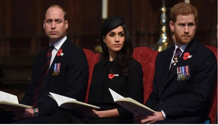 Meghan Markle, Prince Harry, royal family by Prince William