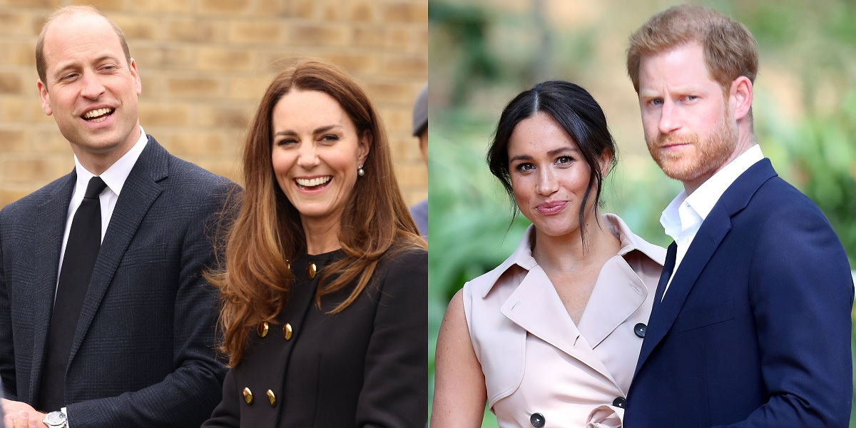 Prince William and Kate Middleton Message to Prince Harry and Meghan Markle