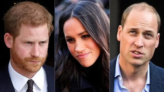 Prince William wants Prince Harry, Meghan Markle 'as far away as possible