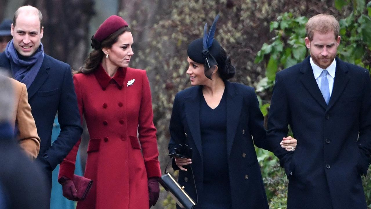 William and Kate Middleton seem to land on their feet in a way Meghan and Harry didn't. Picture